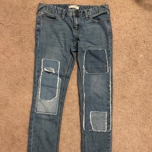 Free People Jeans - Free people size 28 patch jeans